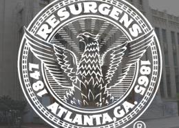 Atlanta City Hall with Logo