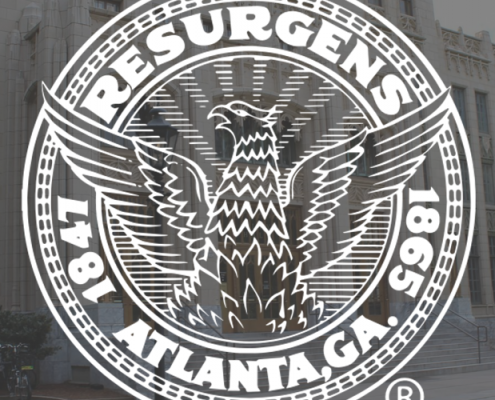 Atlanta City Hall with Logo