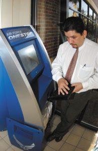Charleston AFB Kiosk Install