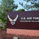 Fairchild AFB Sign