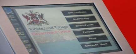 Government of Trinidad and Tobago Portal