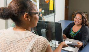 Texas HHSC Customer Service Counter