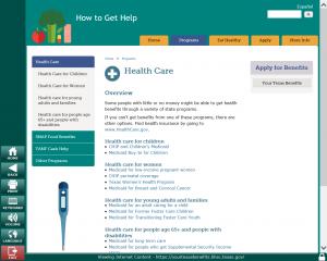 Texas HHSC - Healthcare Screen