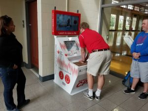 AHA Hands-Only CPR Training Kiosk