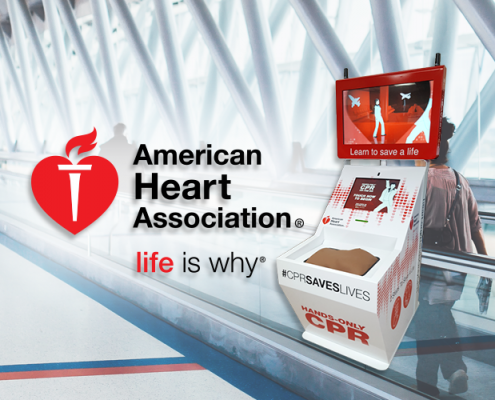 AHA Hands-Only CPR Training Kiosk Project is Saving Lives and Expanding