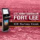 Fort Lee ICE Survey Kiosks