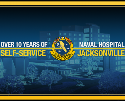 Naval Hospital Jacksonville provides more than 10 years of self-service excellence