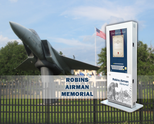 Robins AFB Now Honoring Fallen Airmen with Unique Interactive Kiosk