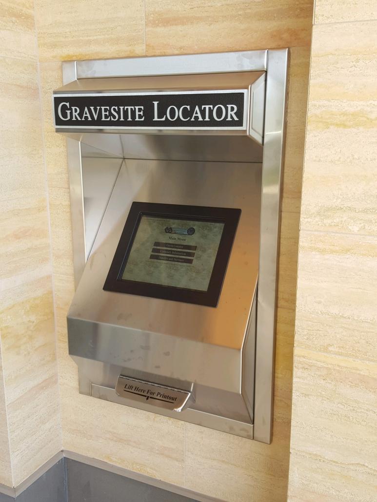 NCA Gravesite Locator Kiosk-Indoor TTW Model