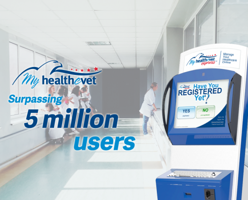 MHV Express Kiosks Help the VA Achieve a Major Milestone for Their Patient Portal